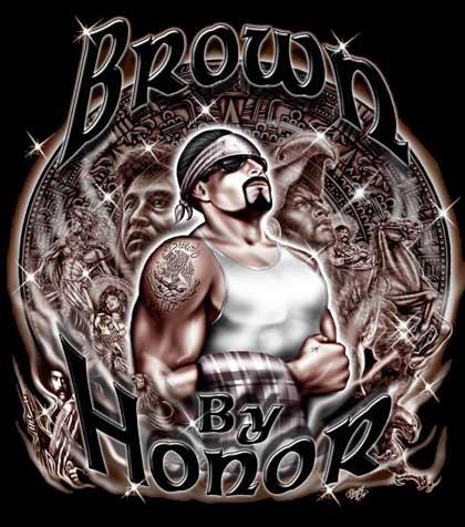 Brown pride mexican - Brown pride drawings ...